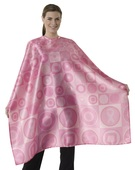 Andre Hairstyling Cape Pink